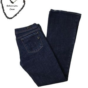 CITIZENS OF HUMANITY Low Waist Wide Leg Jeans S 29